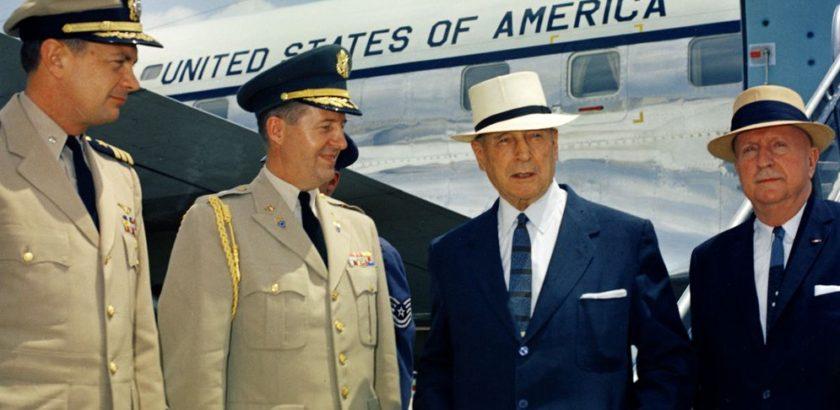 Tazewell Shepard, Chester Clifton, General Douglas MacArthur