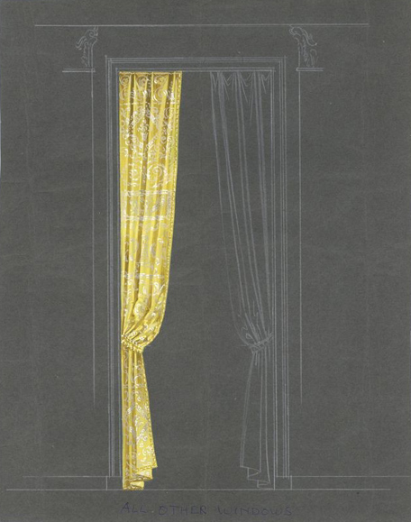 curtain drawing