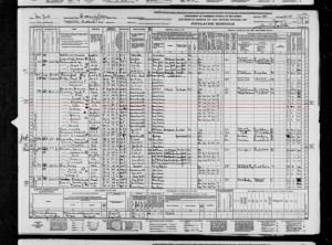 1940 Census Kennedy Roll