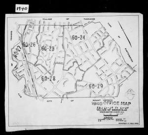 1940 Census Map