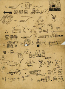 Hemingway pictogram, pg. 1