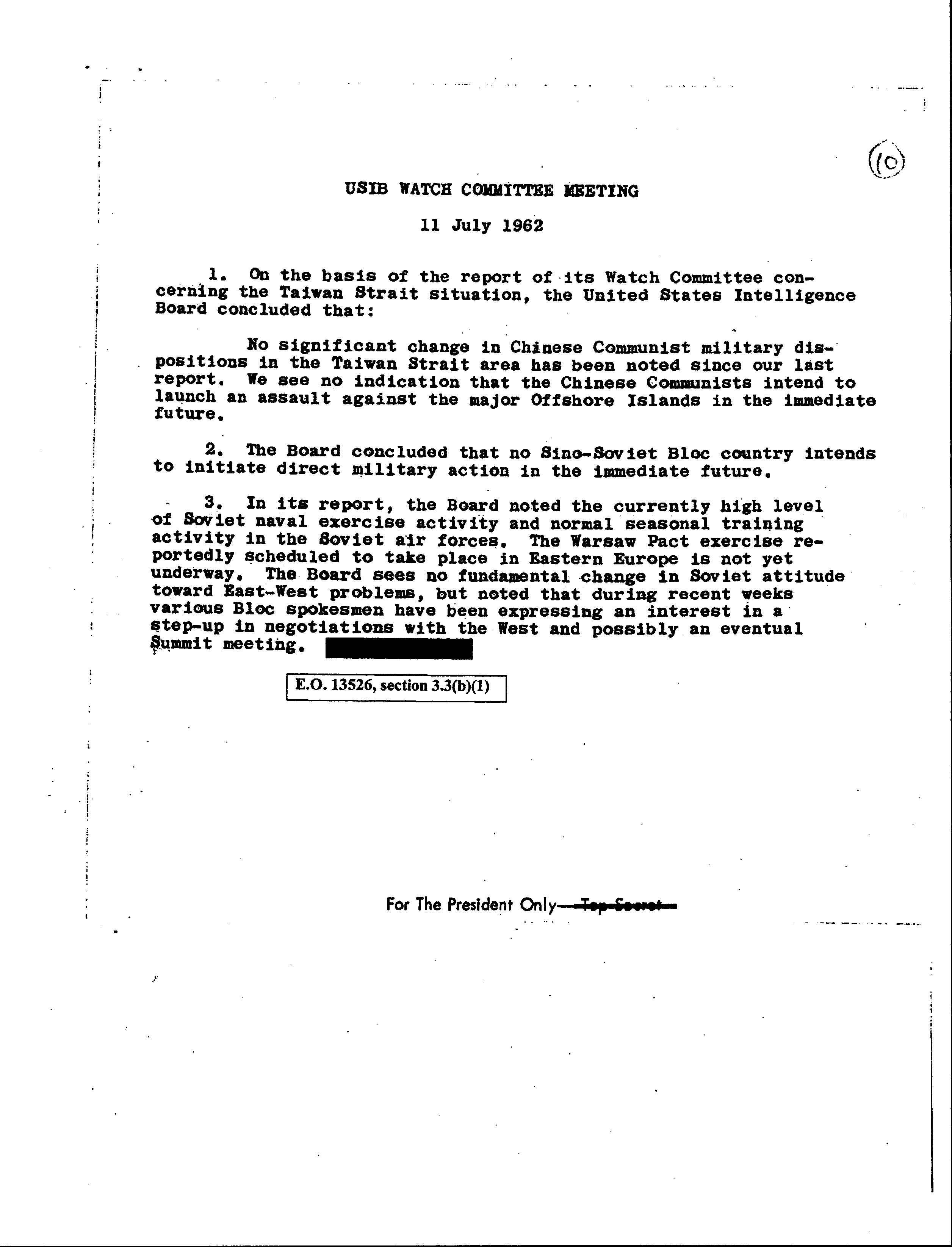 President's Intelligence Checklist, pg. 4