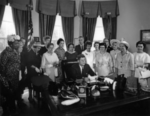 JFKWHP-AR7965-B. Signing of the Equal Pay Act of 1963, 10 June 1963 [View entire folder here: http://www.jfklibrary.org/Asset-Viewer/Archives/JFKWHP-1963-06-10-B.aspx]