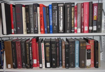 JFK Library Bookshelf