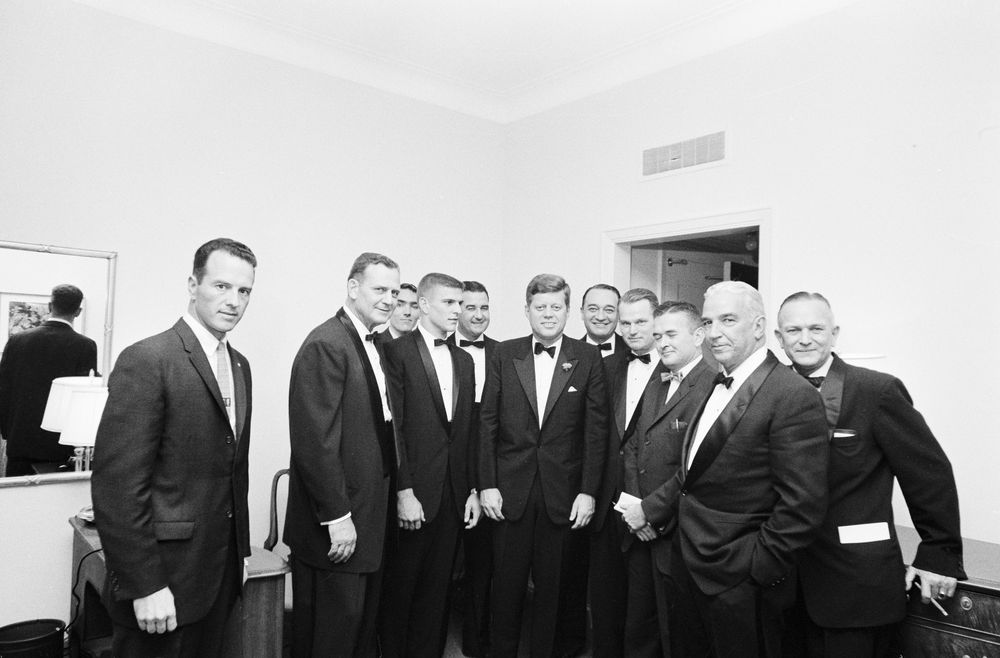 Football Hall of Fame Dinner in New York City December 5, 1961