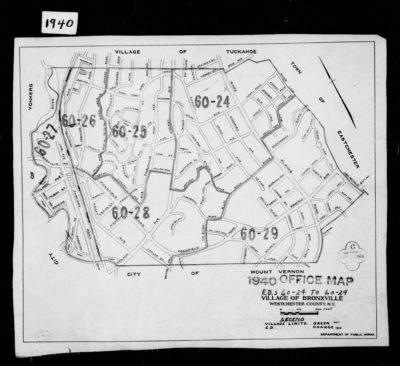 1940 Census Map