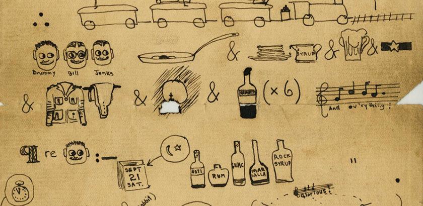 Hemingway pictogram, pg. 1
