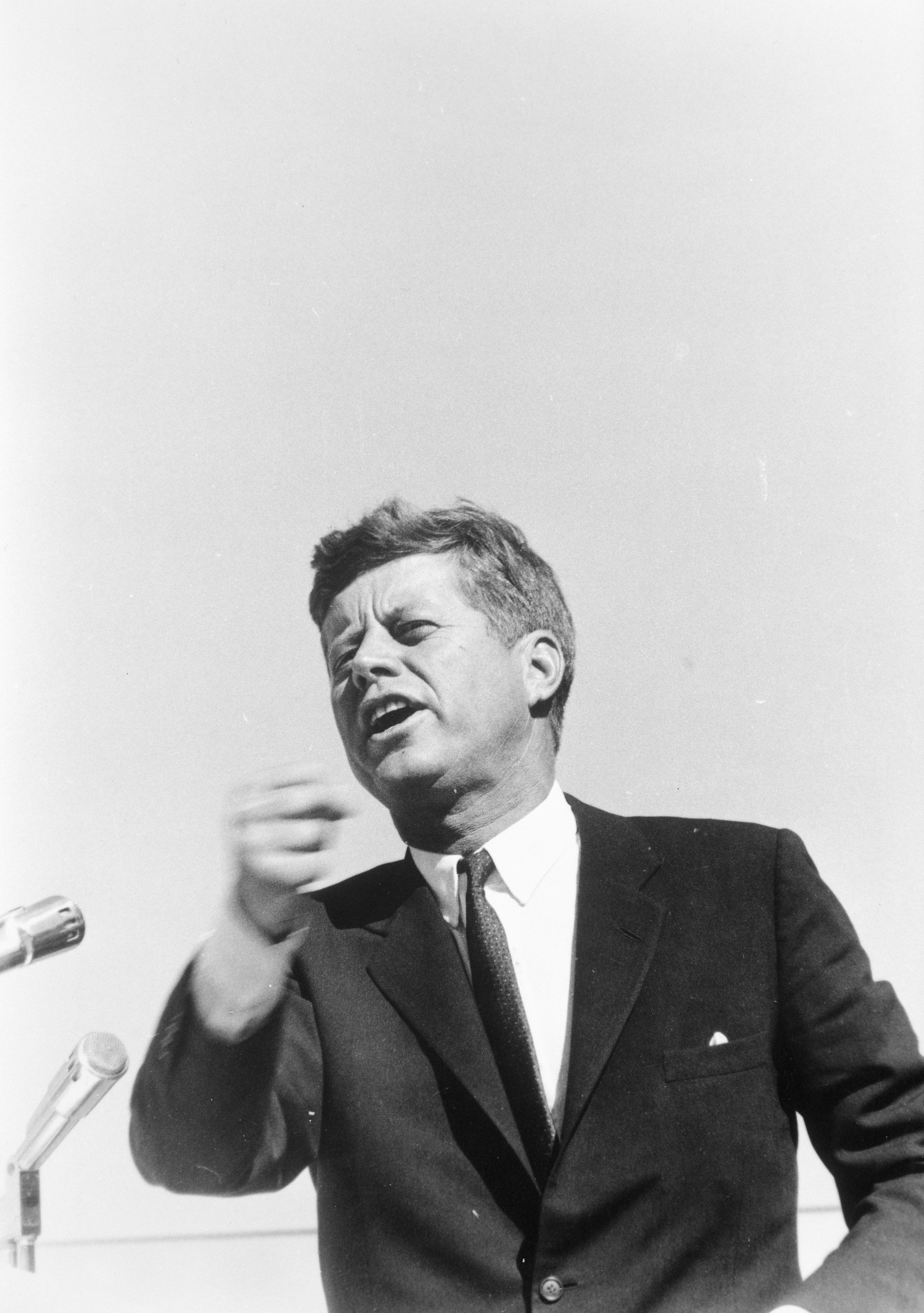 the business of every citizen president john f kennedy stumps for